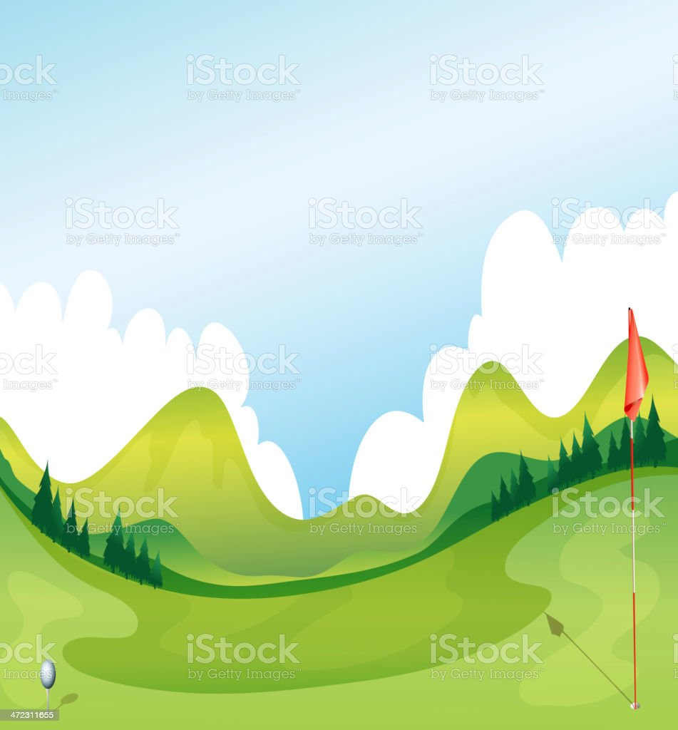 Golf Course Stock Illustration Download Image Now Istock