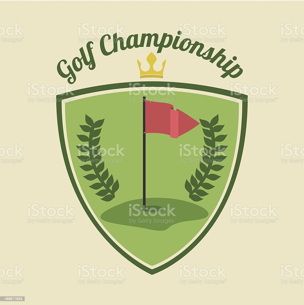 Golf Design royalty-free golf design stock vector art & more images of activity