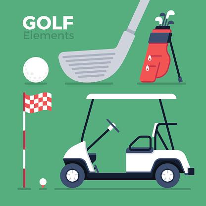 Golf Elements and Symbols