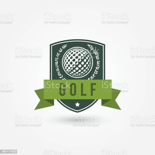 Golf Emlblem Or Icon Stock Illustration - Download Image Now