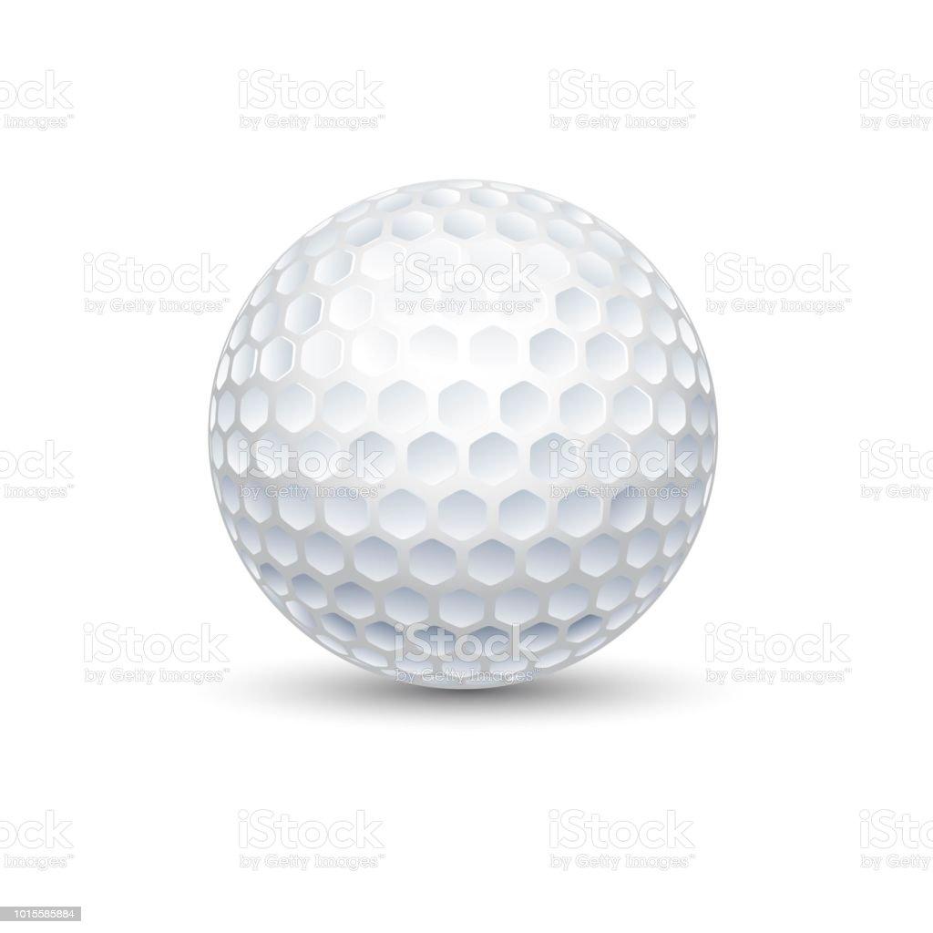 Ilustração de bola jogo de esporte golfe - ilustração de arte em vetor