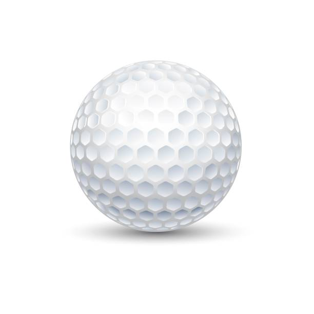 Golf game sport ball illustration A golf ball is a special ball designed to be used in the game of golf. Under the rules of golf, a golf ball has a mass no more than 1.620 oz golf ball stock illustrations