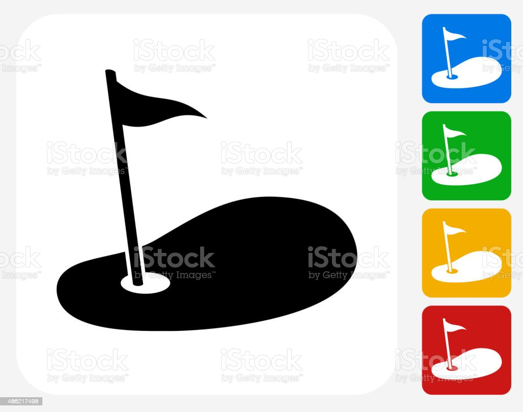 Royalty Free Golf Hole Clip Art, Vector Images ... Golf Hole Clip Art
