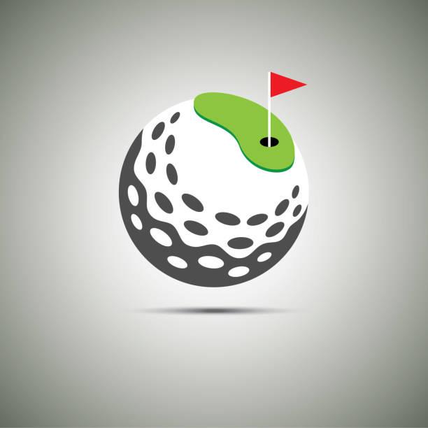 Golf-Symbol-Symbol. – Vektorgrafik