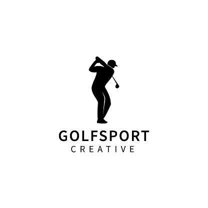 Golf icon template design vector icon illustration