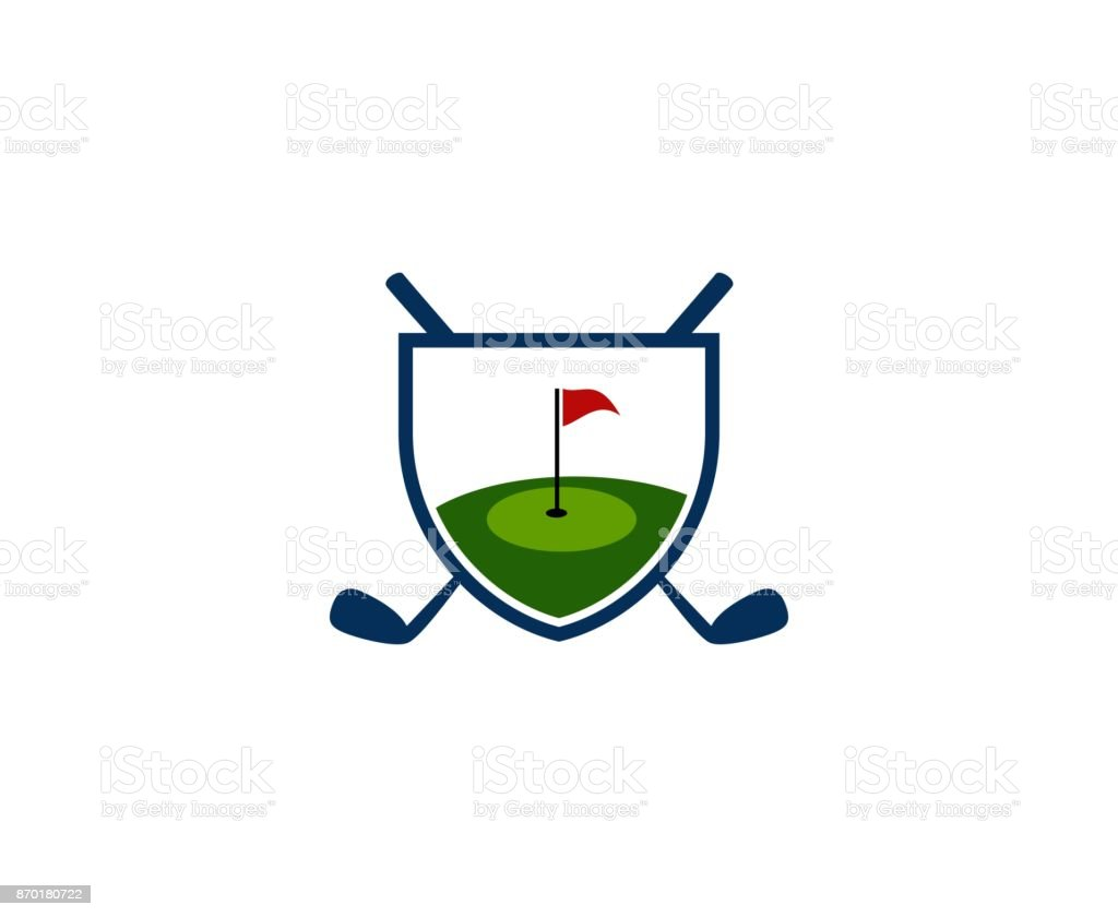 Golf icon This illustration/vector you can use for any purpose related to your business. Circle stock vector