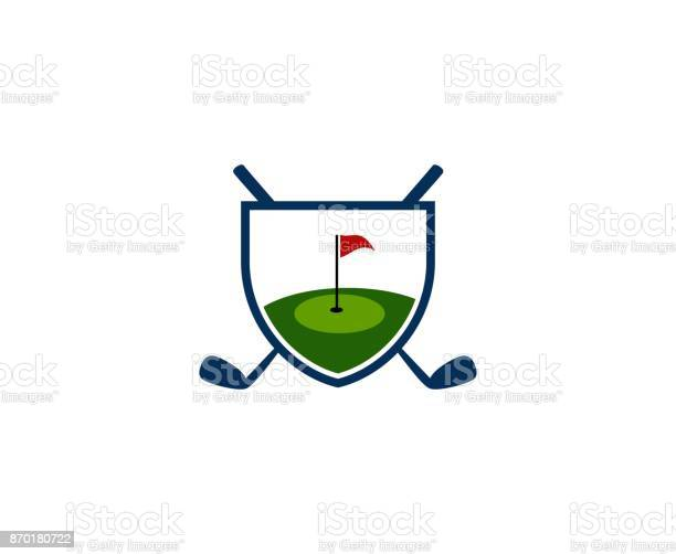 Golf Icon Stock Illustration - Download Image Now
