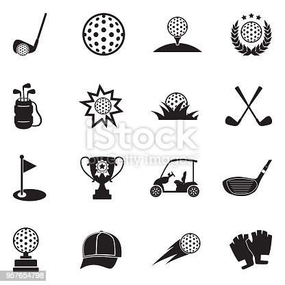 Golf, Field, Ball, Sport, Activity