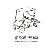 Golf icons_logo