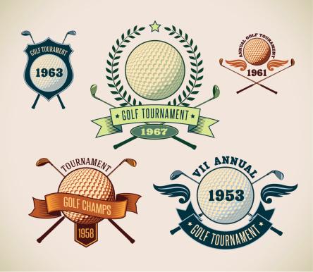 Golf labels