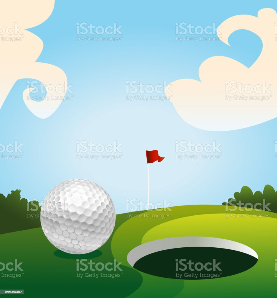 Golf land green royalty-free golf land green stock vector art & more images of accuracy