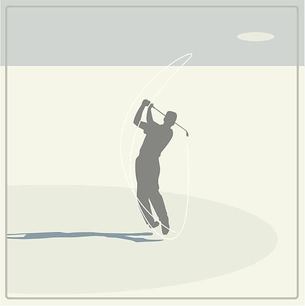 ilustrações de stock, clip art, desenhos animados e ícones de jogador de golfe emergência - enjoying wealthy life