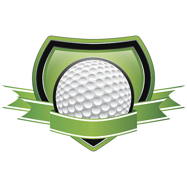 Royalty Free Golf Hole In One Frame Clip Art, Vector Images ...