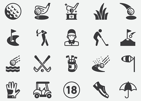 Golf ,Sport,Championship ,Healthy Pixel Perfect Icons