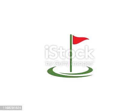Golf Logo Template vector illustration design