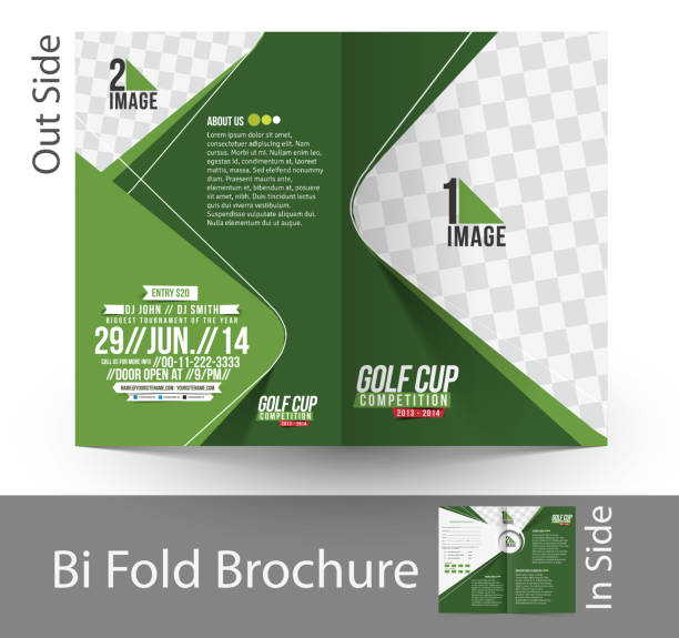 royalty free golf flyer template drawings clip art vector images