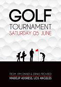 istock Golf tournament poster 942850112