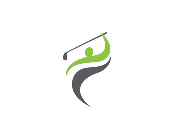 Golf vector illustration icon design Golf Logo Template vector illustration icon design golf logo stock illustrations