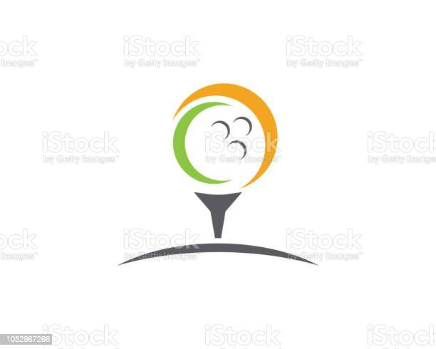 Golf Vector Illustration Icon Design Stock Illustration - Download Image Now