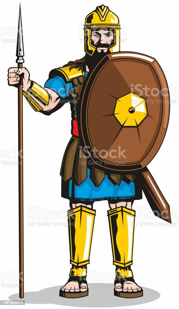 Ilustración de Goliath y más banco de imágenes de Armadura ...