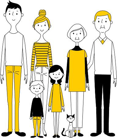 良い家族 - イラストレーションのベクターアート素材や画像を多数ご用意