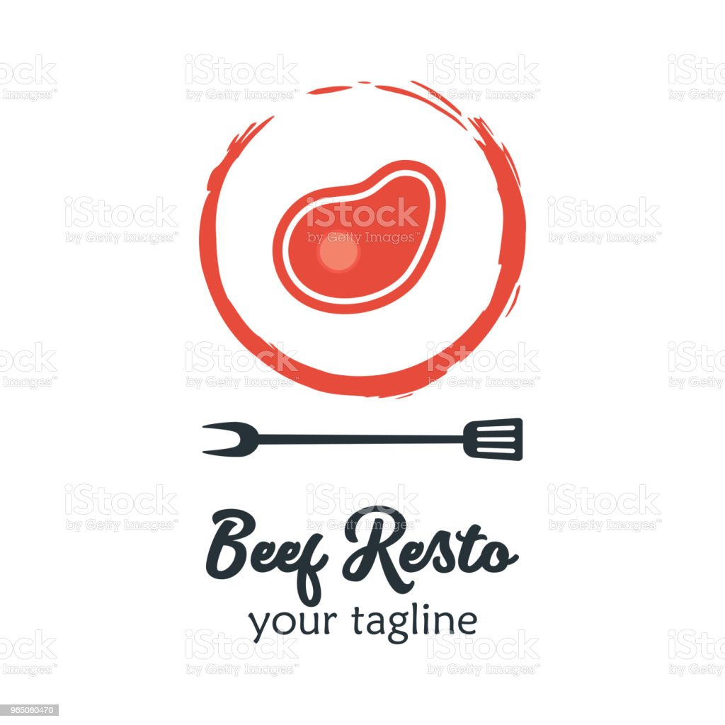 Good Food icon Icon. Restaurant Culinary Kitchen Canteen Catering Design Concept. Beef and Fork Spatula Vector Illustration good food icon icon restaurant culinary kitchen canteen catering design concept beef and fork spatula vector illustration - stockowe grafiki wektorowe i więcej obrazów biznes royalty-free