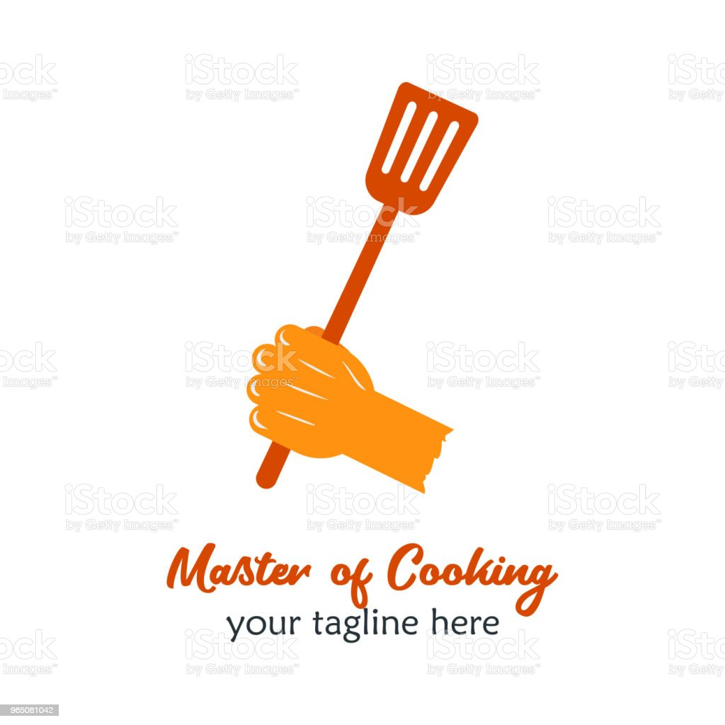 Good Food icon Icon. Restaurant Culinary Kitchen Canteen Catering Design Concept. Hand Hold Spatula Vector Illustration good food icon icon restaurant culinary kitchen canteen catering design concept hand hold spatula vector illustration - stockowe grafiki wektorowe i więcej obrazów biznes royalty-free