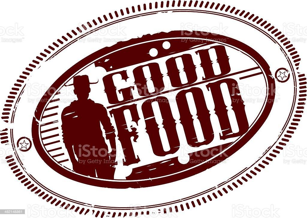 Good food royalty-free stock vector art
