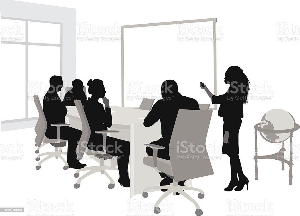 Good Impression vector art illustration