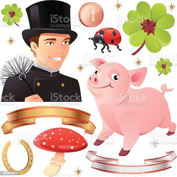Good luck collection with pig and chimney sweep vector id165596834?b=1&k=6&m=165596834&s=612x612&h=hidinhp cogoog1tn 0ddsrlpuyfcuh4of0cvvvobhe=