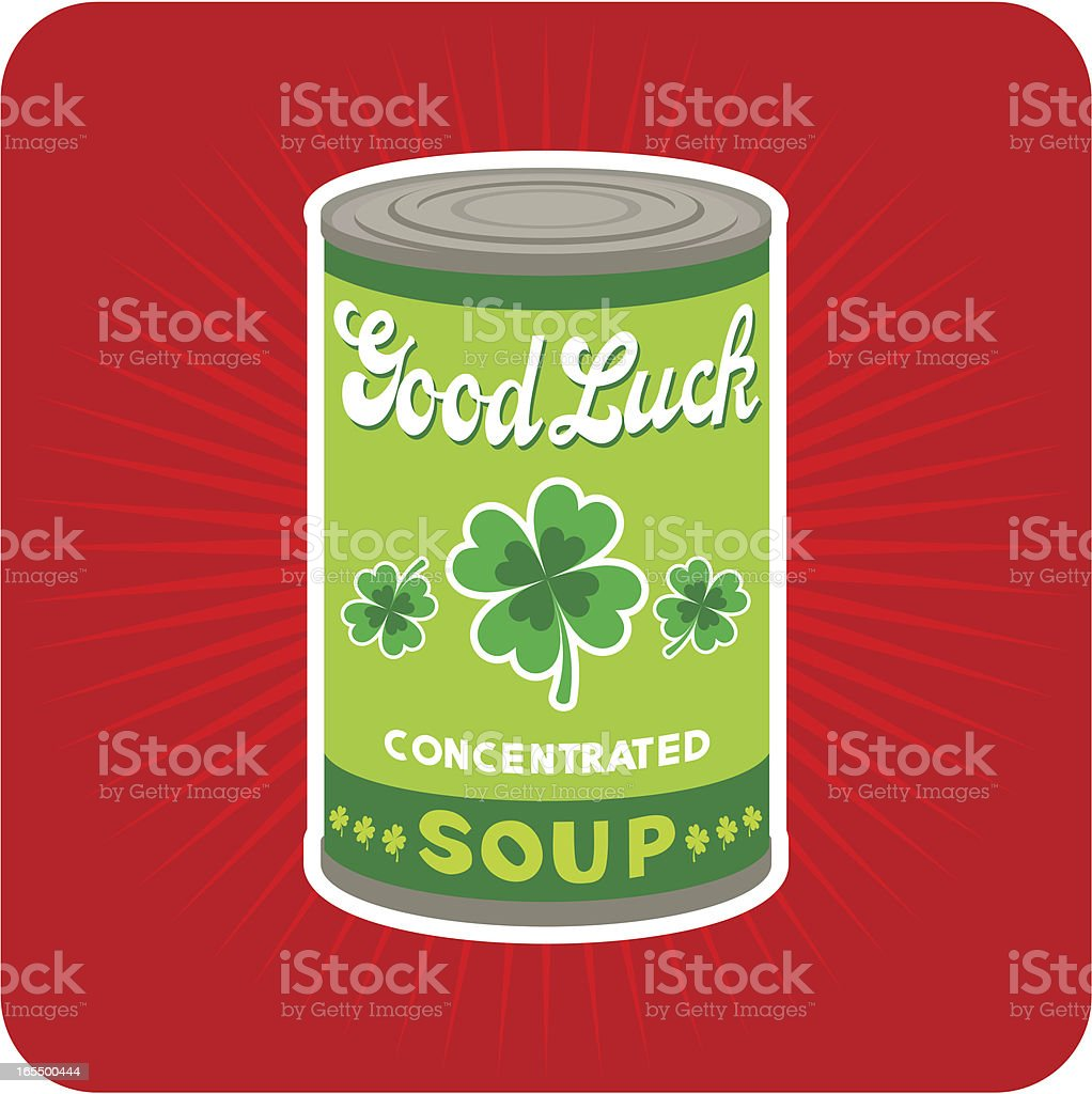 Good Luck Concentrated / St. Patrick´s Day vector art illustration