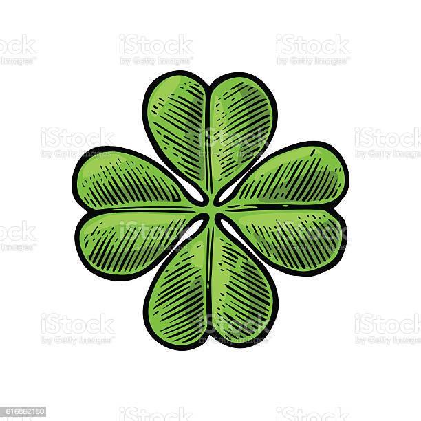Good luck four leaf clover vintage vector engraving illustration vector id616862180?b=1&k=6&m=616862180&s=612x612&h=ep49a l4rxczlkaf3gze3ux4ln5qjlcq uq4pwgocnk=