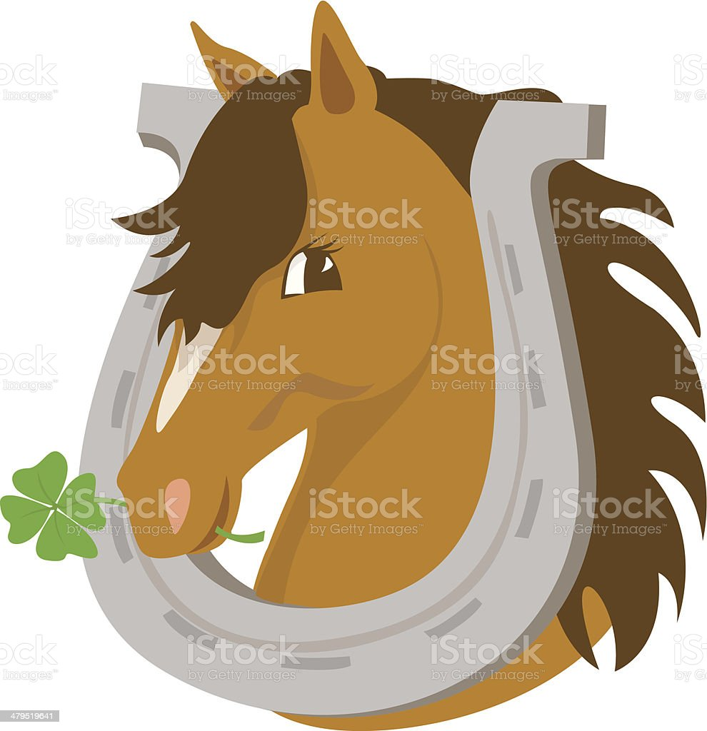 Good luck horse royalty-free good luck horse stock vector art & more images of animal
