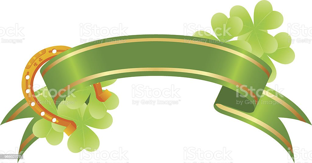 Good luck or st. Patrick's day banner royalty-free good luck or st patricks day banner stock vector art & more images of abstract