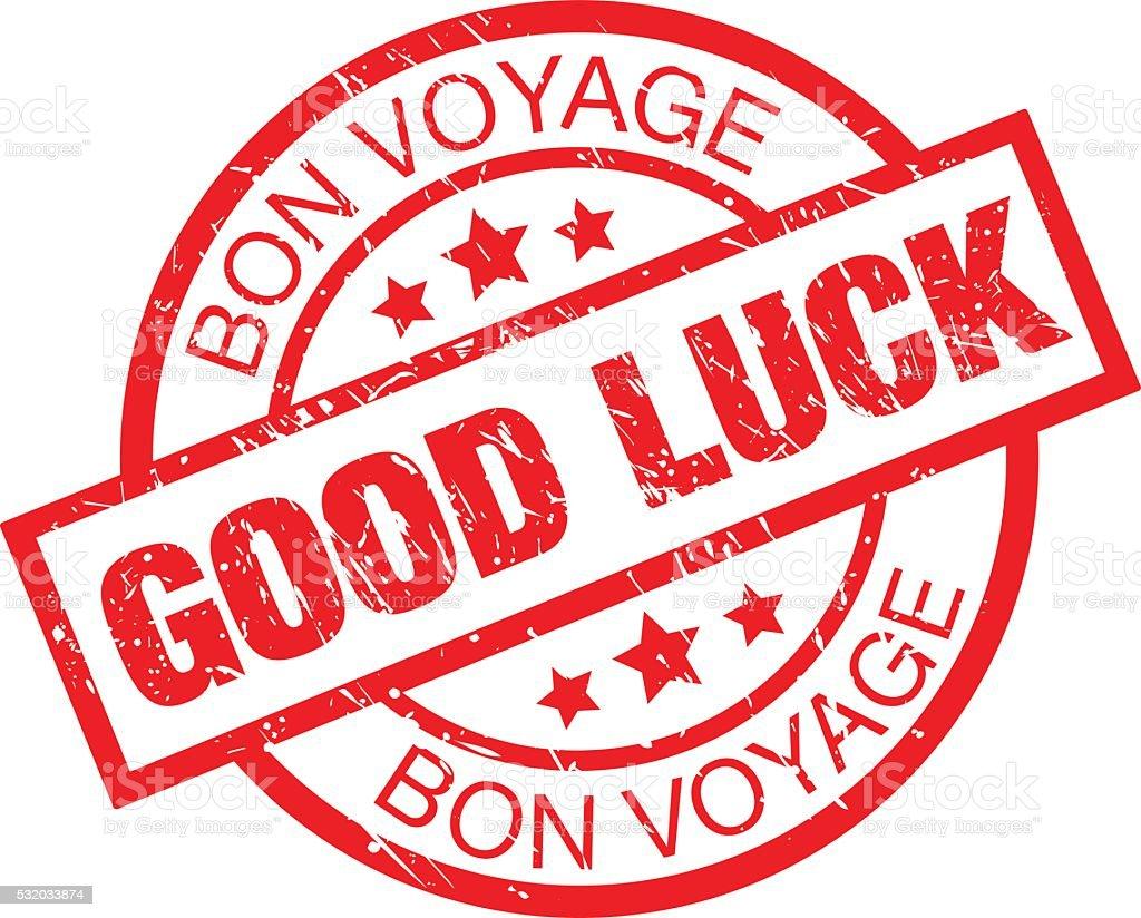 Good Luck vector art illustration
