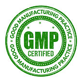 Good Manufacturing Practice ( GMP ) stamp