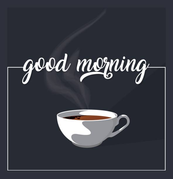 Good Morning Concept vector art illustration