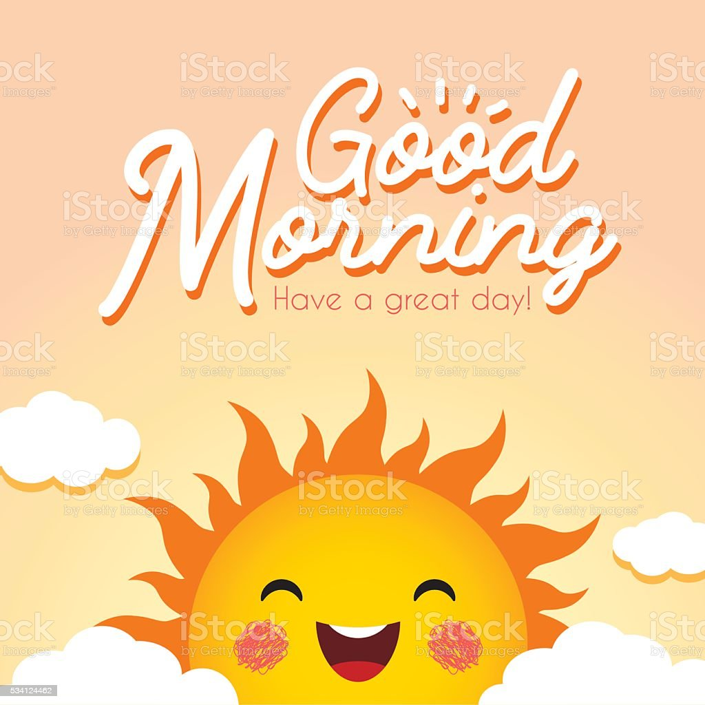 Good Morning Illustration Stock Illustration Download Image Now Istock