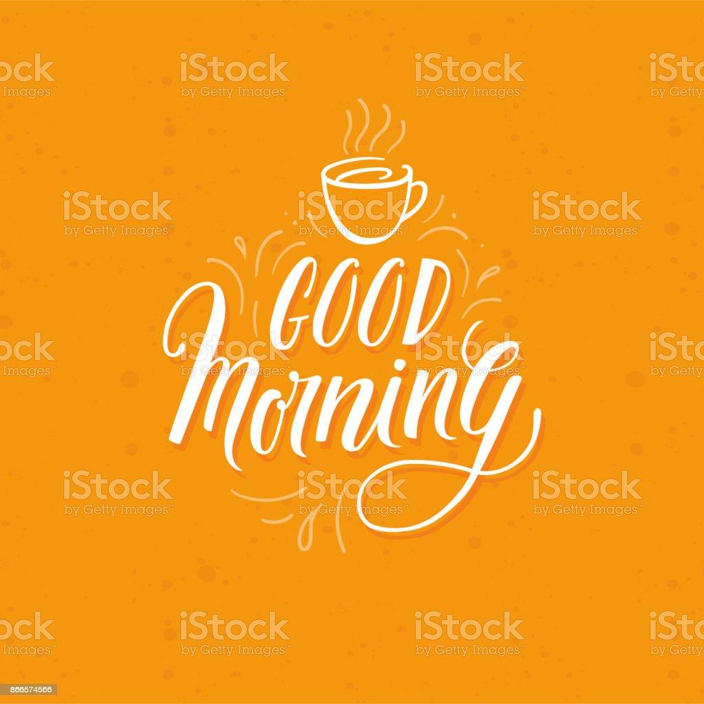 Guten Morgen Stock Vektor Art Und Mehr Bilder Von Brief