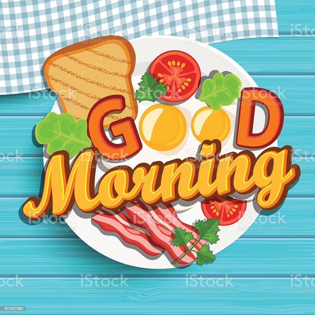 Good morning, vector. Lizenzfreies good morning vector stock vektor art und mehr bilder von bildhintergrund