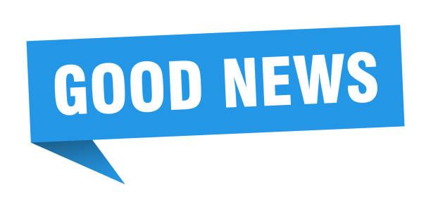 good news banner. good news speech bubble. good news sign vector art illustration