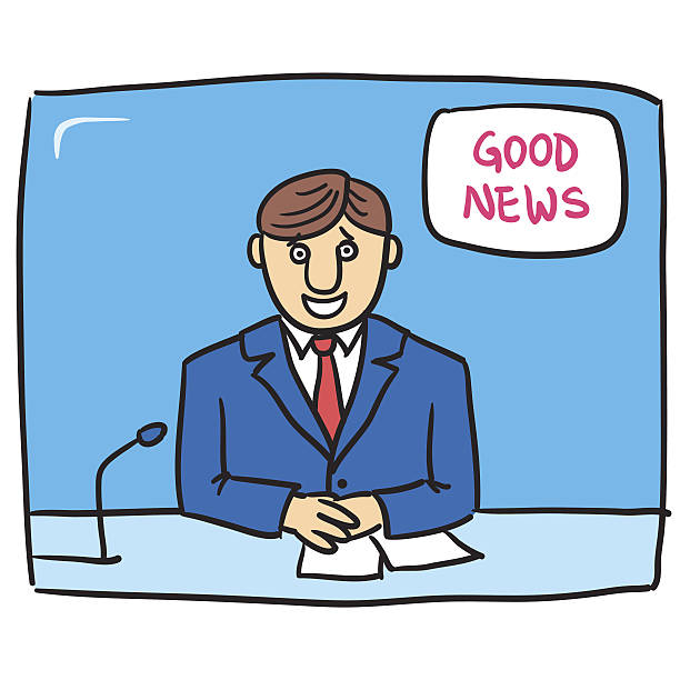 Good News Files included: good news stock illustrations