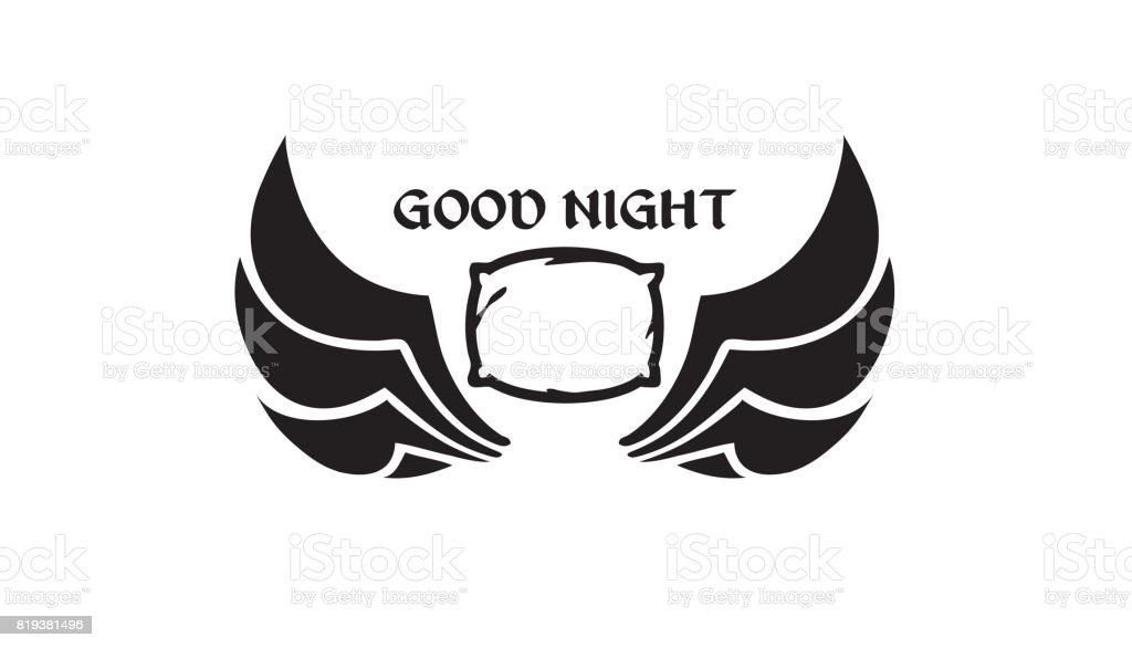 Good Night Symbol Design Stock Vector Art More Images Of Abstract