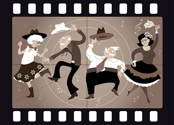 Hoedown Illustrations, Royalty-Free Vector Graphics & Clip ...