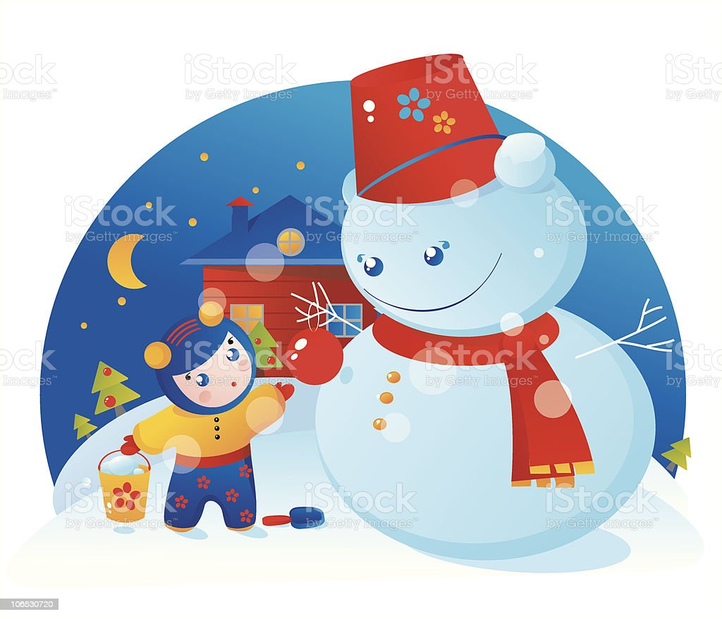 Good Snowman royalty-free good snowman stock vector art & more images of baby