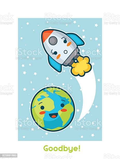 Goodbye kawaii space funny card doodles with pretty facial expression vector id525881860?b=1&k=6&m=525881860&s=612x612&h=hjjdfaujp 9wdjcphgkp4s3saw3mtm1pzflwhlhitd0=