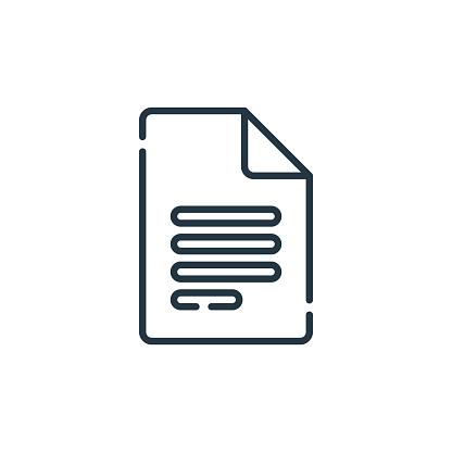 谷歌文檔向量圖示谷歌文檔可編輯筆劃google 文檔線性符號用於 Web 和行動應用程式徽標列印媒體細線插圖向量隔離輪廓圖向量圖形及更多原木圖片
