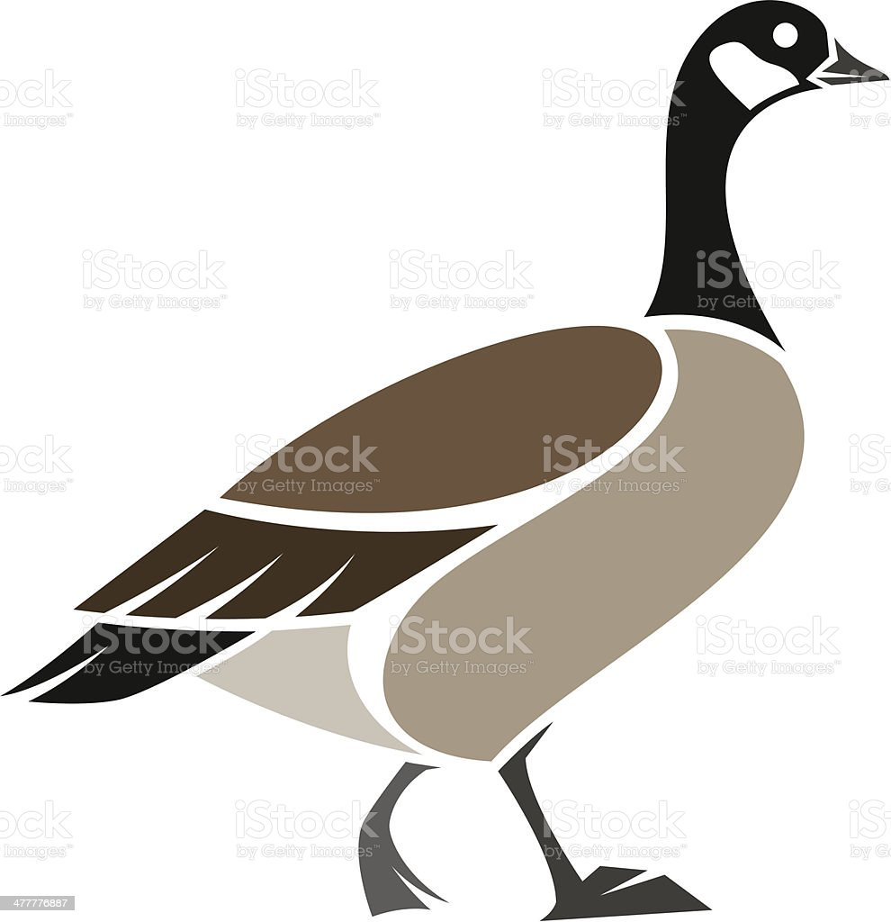 royalty free cackling goose clip art vector images illustrations rh istockphoto com goose clipart png mother goose clipart