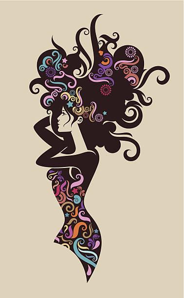 Wspaniałe lady. – artystyczna grafika wektorowa