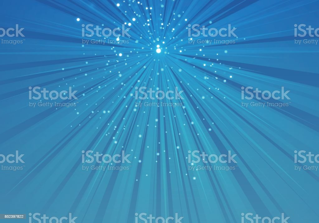 Gorgeous ray background vector art illustration